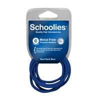 Schoolies Premium M/Free Holders 6pc Real Dark Blue