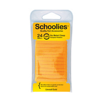 Schoolies Tubes Small Ponytail Holders 24pc