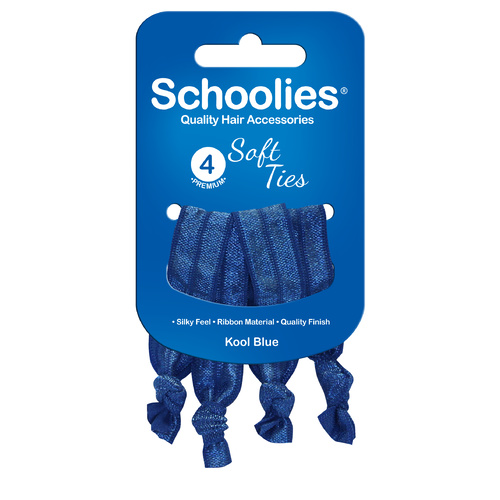 Schoolies Softies 4pc Real Dark Blue