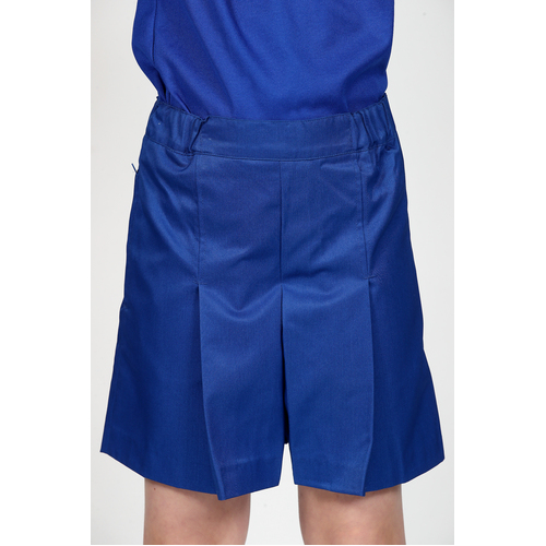 School Culottes (Stubbies Skort) - Royal